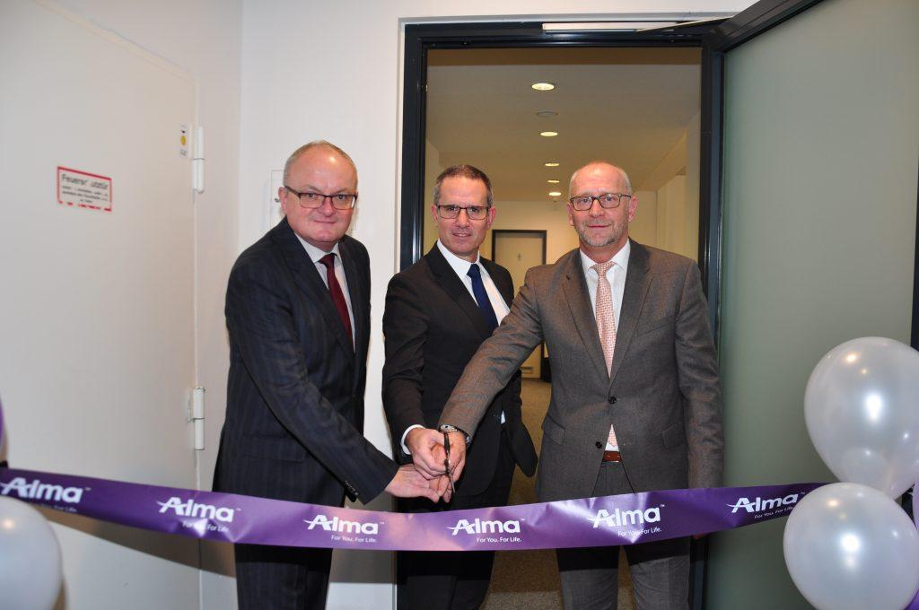 Alma Lasers GmbH erweitert Tätigkeitsfeld am Standort